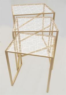 Table frame design