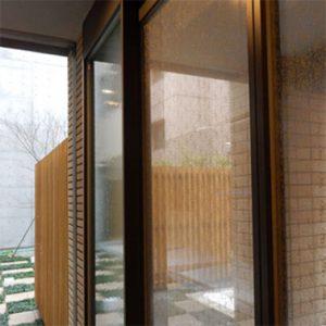 絹ガラス Silk Glass 杢目