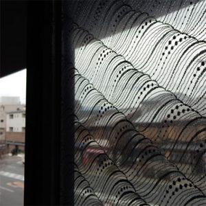 絹ガラス Silk Glass 遠波 バルコニー
