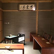 絹ガラス 絹シェード ティーテーブル 立礼台