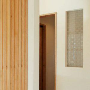 絹ガラス Silk Glass 丹後織物の紋紗格子柄