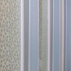 絹ガラス Silk Glass 桜重ねのガラスパーテーション