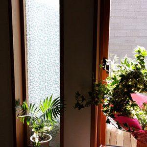 絹ガラスSilkGlass桜重ねの個人住宅例