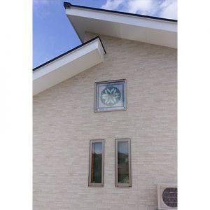 絹ガラスSilkGlassの個人住宅例