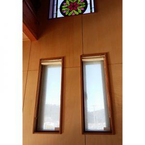 絹ガラスSilkGlassに封入された丹後織物の紋紗