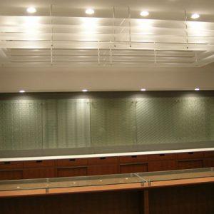 絹ガラスitoko壁装用のシルクグラス