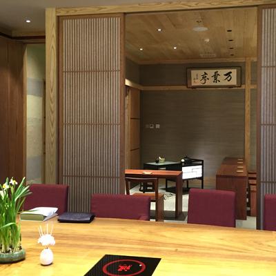 北京マリオット ホテル ノースイースト 日本料理店 Silk Art Tea Table