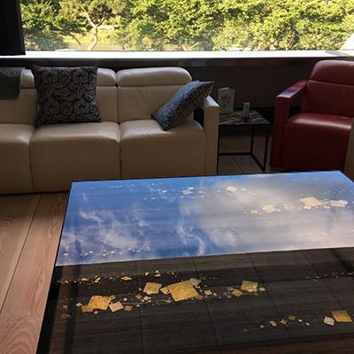 京都 個人邸 Low Glass Table