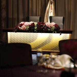博多四つ星ホテルご採用の高砂絹ガラス金彩アート