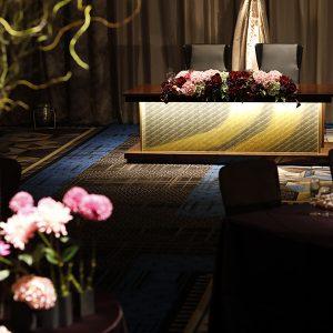 博多四つ星ホテル高砂光絹ガラス