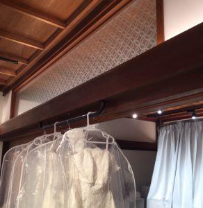 平安神宮衣裳室 絹ガラス