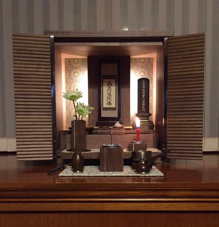 京都 K様個人邸 a buddhist altar