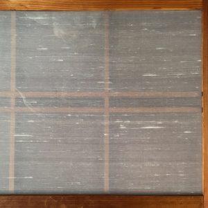絹障子の裏面にはクリアーガラスを使用