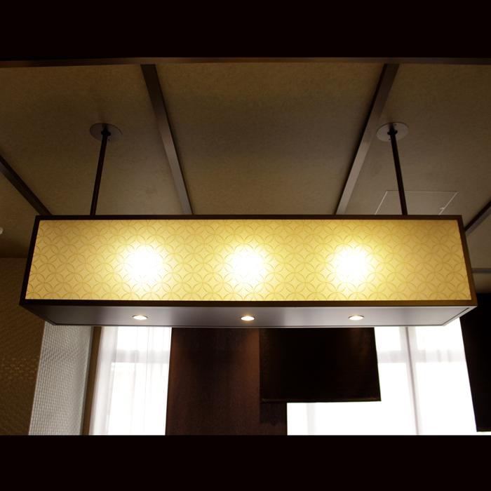ミュッセ京都名鉄 様 Front desk Lightings