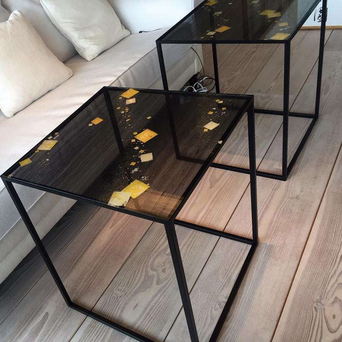 出町柳の個人邸 ワークテーブル Working table
