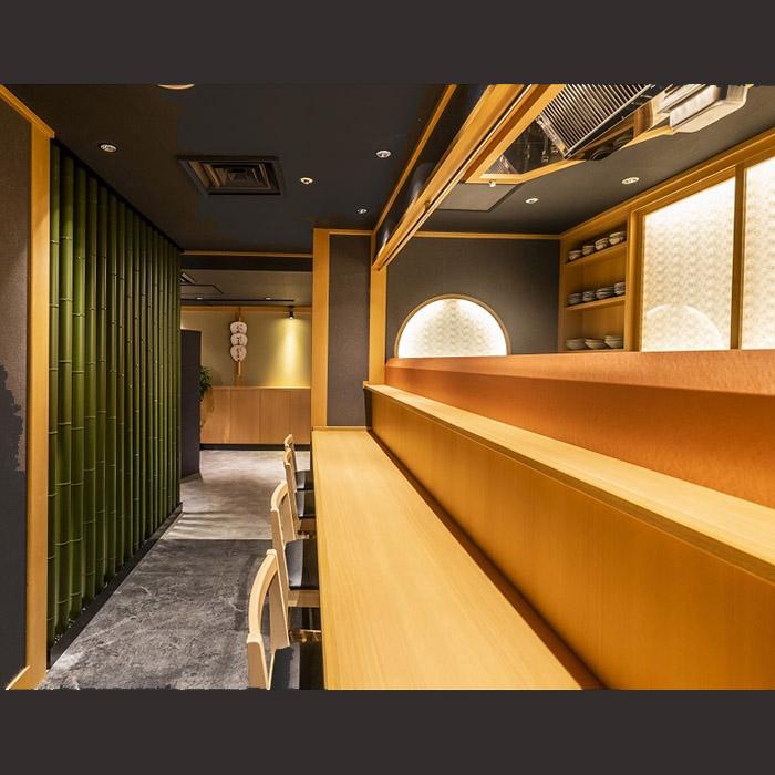 天ぷら圓堂「門久」 様 tempura restaurant